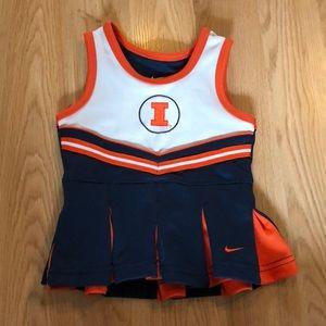 Fighting Illini cheerleader dress!